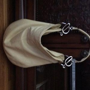 Loewe Pale yellow leather hand bag
